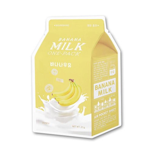 A'pieu Banana  Milk One Pack Mask