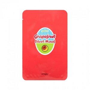 A'pieu Grapefruit & Sparkling Sheet Mask