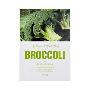 A'pieu My Skin Broccoli Fit Sheet Mask