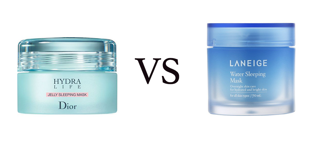 dior vs laneige sleeping mask