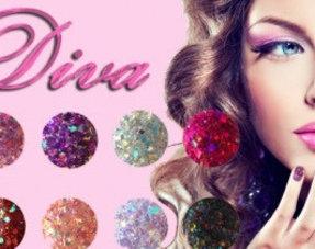 Diva Glitter Coloracryl
