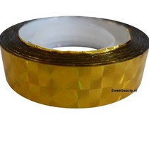 Striping tape Goud, 1 cm breed