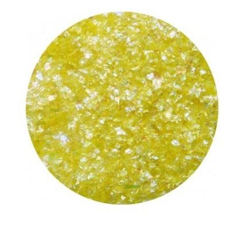 Flakes geel
