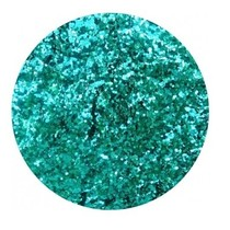 Nail art Pailletten klein Ocean green