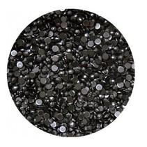 Strass steentjes Zwart (ca 100 stuks)