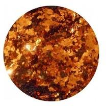 Nail art Pailletten groot Oranje