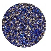 Strass steentjes Donkerblauw (ca 100 stuks)