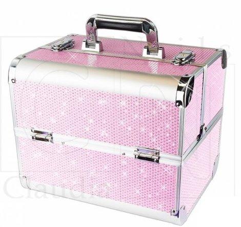Make up koffer - Nagelkoffer met bling bling