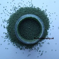 Nail art Caviar kralen groen