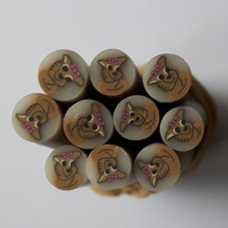 Fimo Nail Art In De Vorm Van Schattig Hondje Sweetbeauty