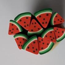 Nail art Watermeloen