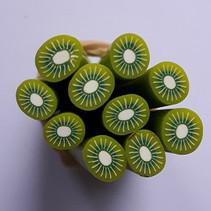 Nail art fimo Kiwi