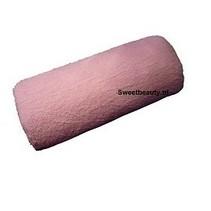 Armsteun roze badstof
