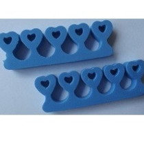 Teenspreiders blauw hart