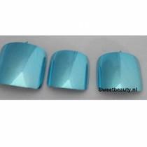 Teennagel tip Metallic Turquoise