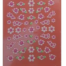 Nailart stickers Serie 2 Kleur, Kies uit verschillende printjes.  - Copy