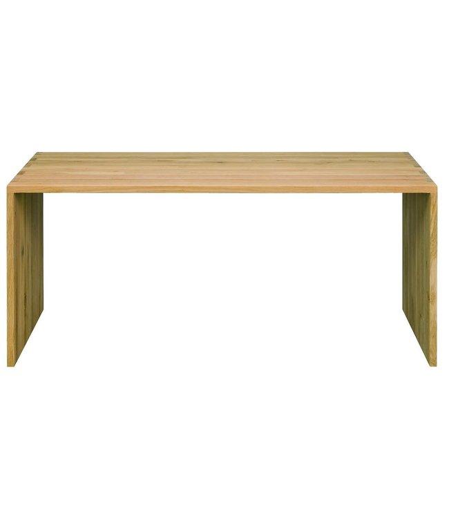 Oak U - table 140cm