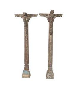 Pair of Oiginal Pillars