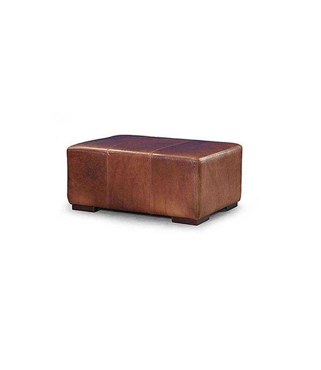 Tuscany Leather Footstool Large