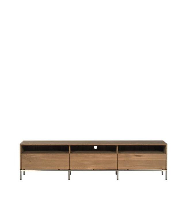 Ethnicraft Oak Oak Ligna TV cupboard  - 3 drawers