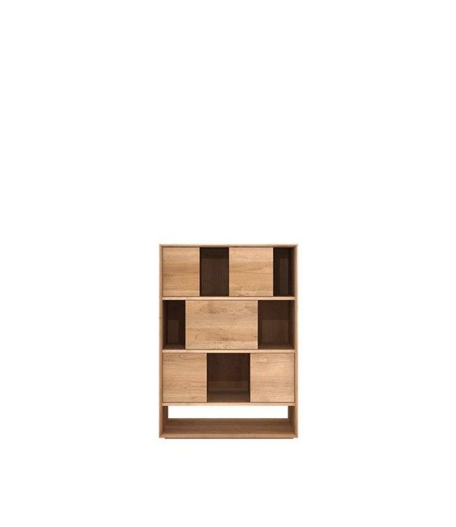 Ethnicraft Oak Oak Nordic Rack - 6 sliding doors