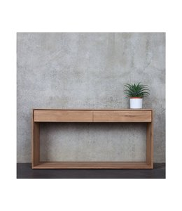 Oak Nordic Console - 2 drawers - New