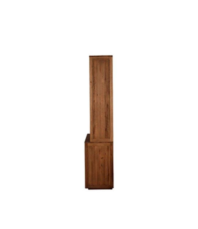 Ethnicraft Oak Oak Pure top - 3 sliding glass doors