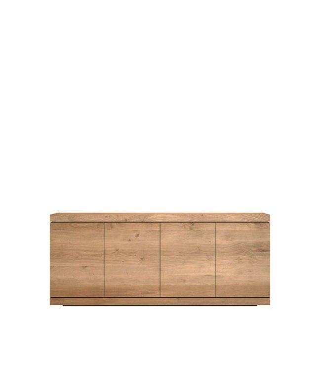 Ethnicraft Oak Oak Burger sideboard - 4 opening doors