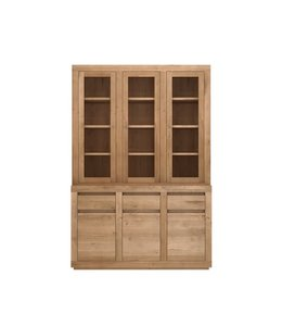 Ethnicraft Oak Oak Flat cupboard - 6 doors / 3 drawers