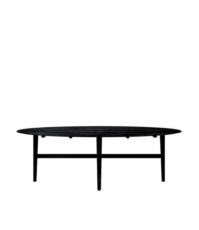 Ethnicraft Oak Oak Blackstone Ellipse dining table - New