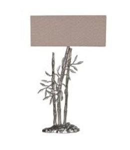 Level 1 Accessories etc Bamboo Shoots Lamp with Shade