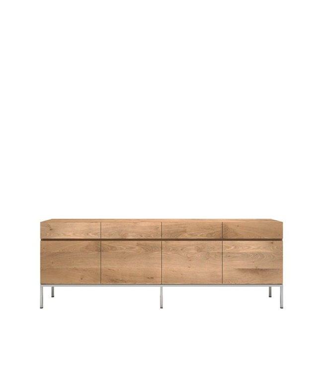 Oak Ligna sideboard - 4 doors / 4 drawers