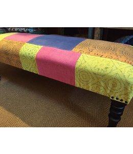 India - Textiles Cotton Fabric Bench