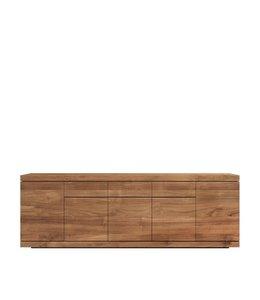Ethnicraft Teak Teak Burger sideboard - 5 doors / 3 drawers
