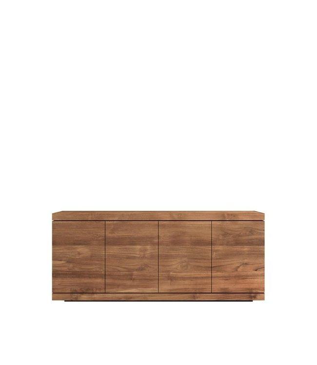 Teak Burger sideboard - 4 doors