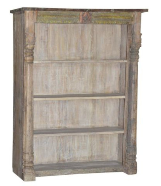 India - Old Furniture Large Bookshelf