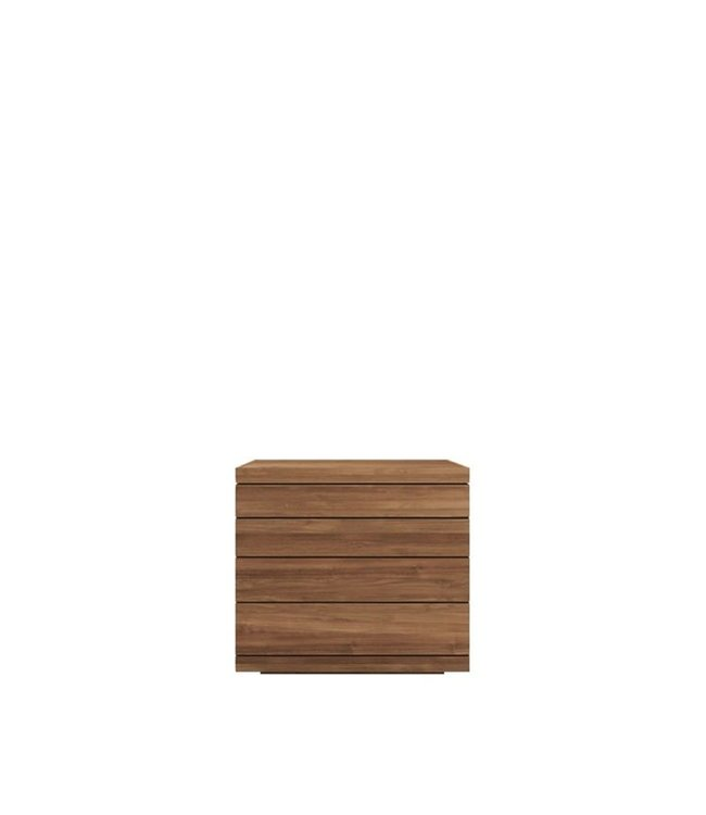 Teak Burger chest of drawers - 4 drawers