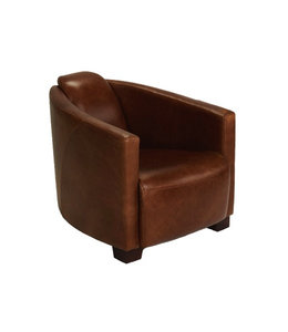 Brando Leather Tub Chair