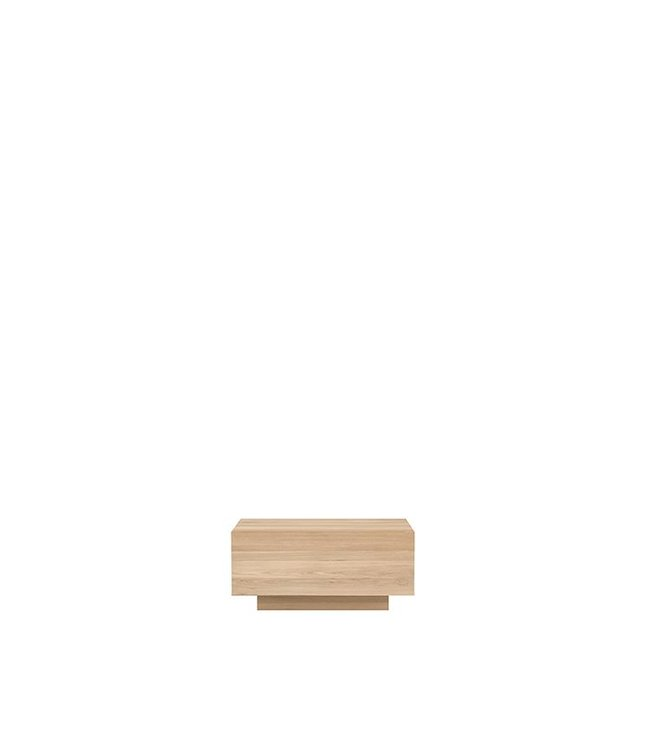 Oak Madra nightstand – 1 drawer
