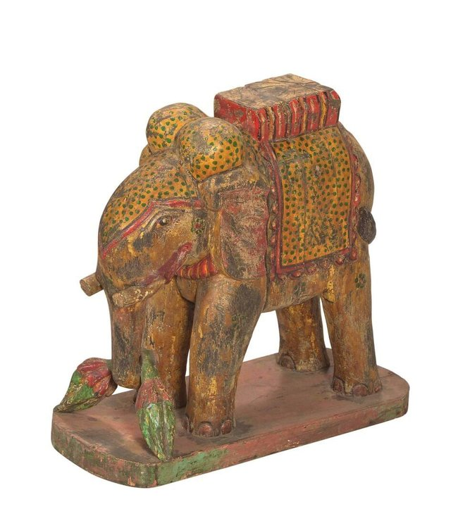India - Handicrafts Original Painted Elephant