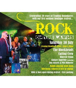 Tickets for Events Rock on the Lawns <br>Saturday 30th July</br>