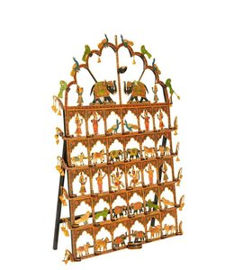 India - Handicrafts Toran Lamp made from Iron