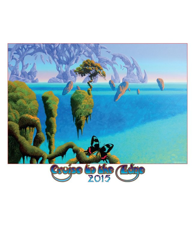 Roger Dean Cruise to the Edge Print 2015