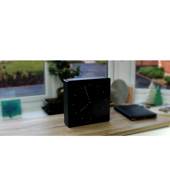 Analogue Black Click Clock