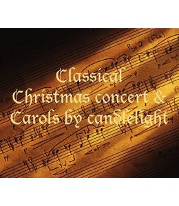 Classical Christmas Concert with Carols <br> Saturday 23rd December 2017 </br>