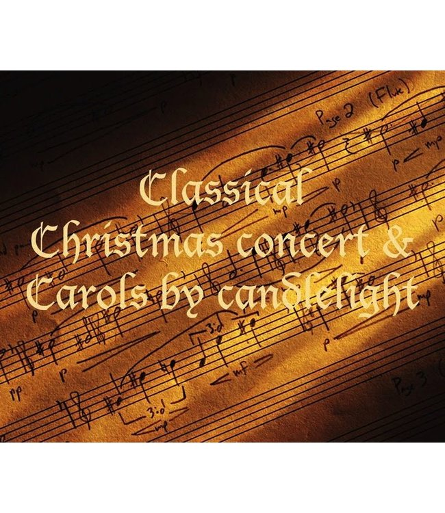 Tickets for Events Classical Christmas Concert with Carols <br> Saturday 23rd December 2017 </br>