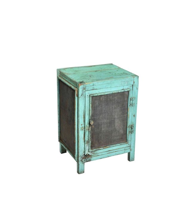 India - Old Furniture Small Cabinet with Original Patina