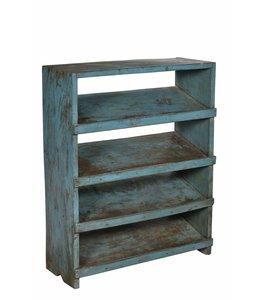 India - Old Furniture Old wooden shoe rack