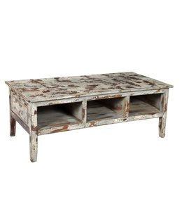 India - Old Furniture Distressed style coffee table