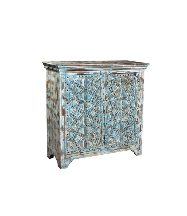 India - Old Furniture Cabinet with intricate carving